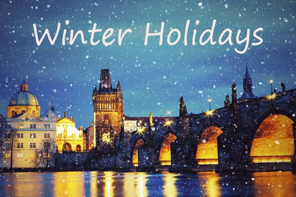 Winter Holidays BookIt Now
